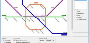 Neue Software LineMap Draw ermöglicht die einfache Erstellung von Liniennetzplänen