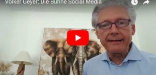 Volker Geyer: Die Bühne Social Media