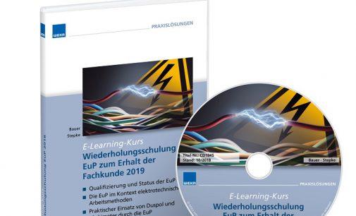 Wiederholungsschulung EuP – die elektrotechnisch unterwiesene Person in der betrieblichen Instandhaltung