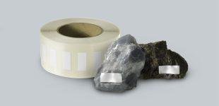 Spezial-Etikett für Mineralien und Rohsteine