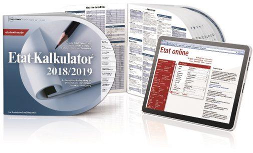 Der neue Etat-Kalkulator® 2018/2019 – Alle Werbekosten jederzeit im Griff
