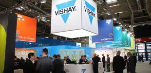 Vishay Intertechnology auf der electronica 2018: C4.421/422 und B4.W07-W10