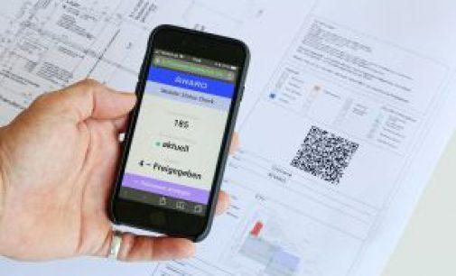 AWARO Version 7.7 mit mobilem Status Checker – Versions- und Planstati abfragen