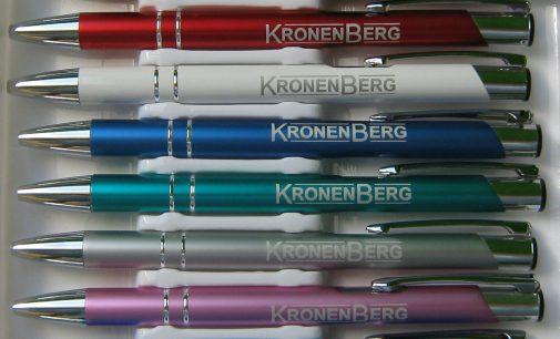 Gravierte VarioColors Kugelschreiber jetzt auch für Privatpersonen