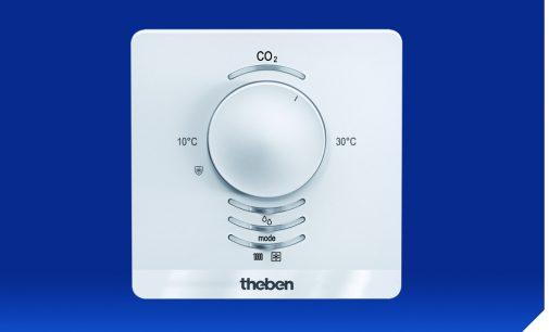 Optimale Luftqualität: Der neue AMUN 716 S KNX CO2-Sensor