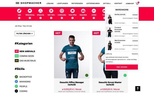 Innovativer Recruiting-Weg: Der SHOPMACHER JobShop