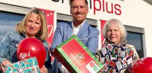 Jubiläum: 10 Jahre Weihnachten im Schuhkarton bei schuhplus aus Dörverden
