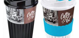 Nachhaltige Mehrweg – To Go – Becher nicht nur für unterwegs und nicht nur für Kaffee geeignet – jetzt ganz neu beim Trinkflaschenexpress