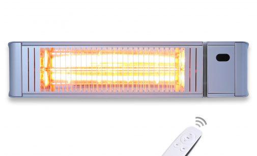 Neu im Sortiment » Der VASNER Terrassenheizstrahler Teras X20 im runden Design inkl. Fernbedienung und 2000 Watt Leistung