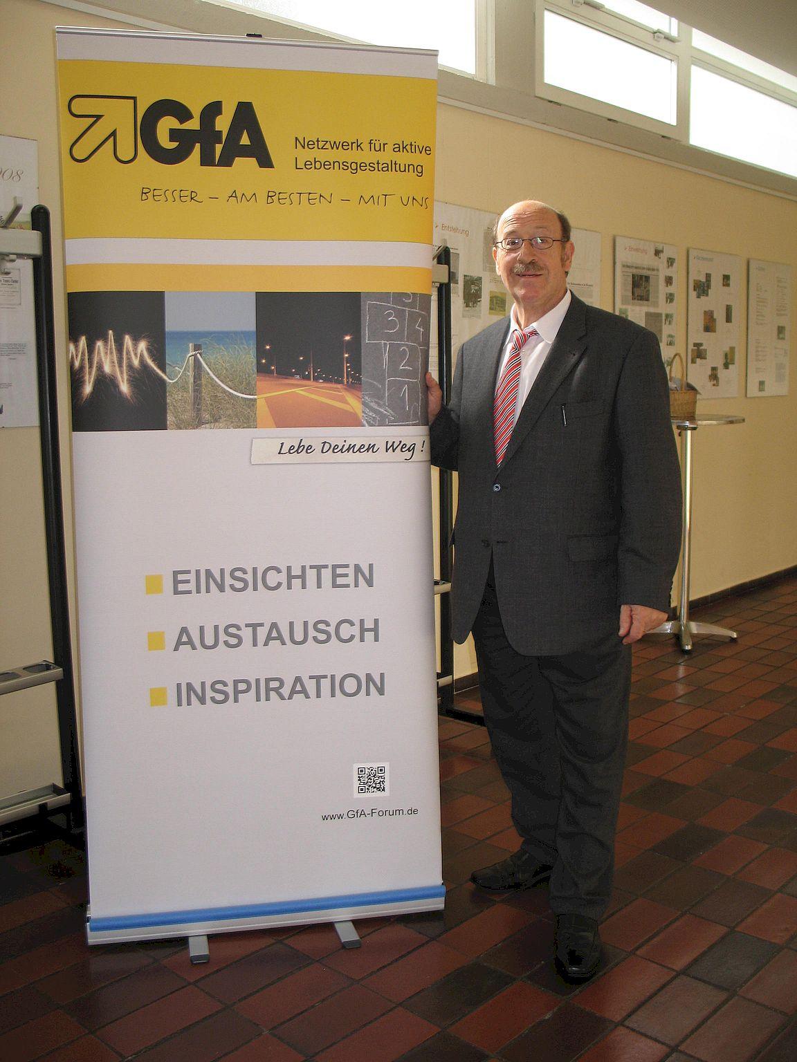 Roland Geisselhart bei der GfA e.V.