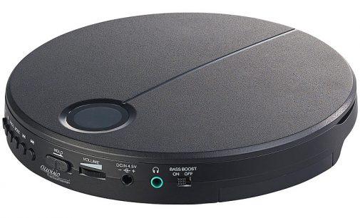 Tragbarer CD-Player mit Anti-Shock, Bass Boost und In-Ear-Kopfhörern