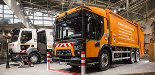 Abfallentsorgung: Fuhrparkpartner präsentieren Renault Trucks D Access in Herxheim