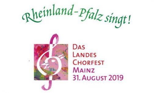 Chorverband Rheinland-Pfalz produziert CD zum Landes-Chorfest 2019