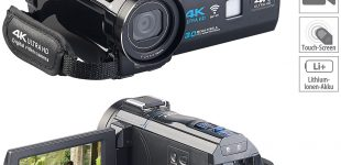 Somikon 4K-UHD-Camcorder DV-880.uhd