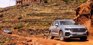 Mit-Pferden-reisen.de auf der Offroad Driving Experience im mit dem neuen VW Touareg