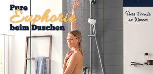 Pure Euphorie beim Duschen