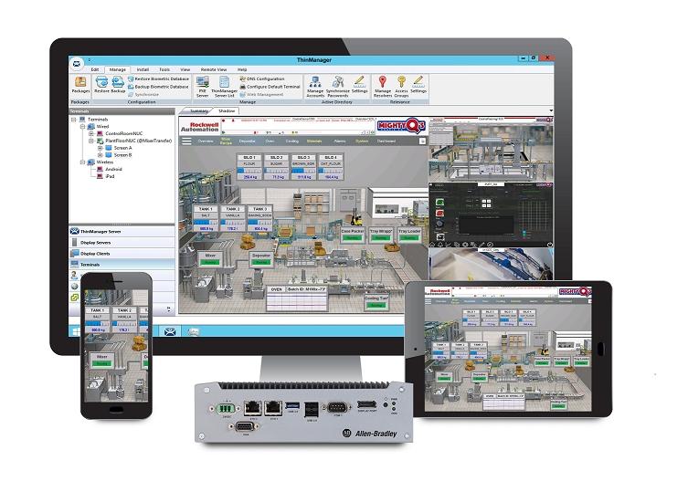 Rockwell Automation veröffentlicht Version 11 der ThinManager-Verwaltungsplattform für Thin Clients
