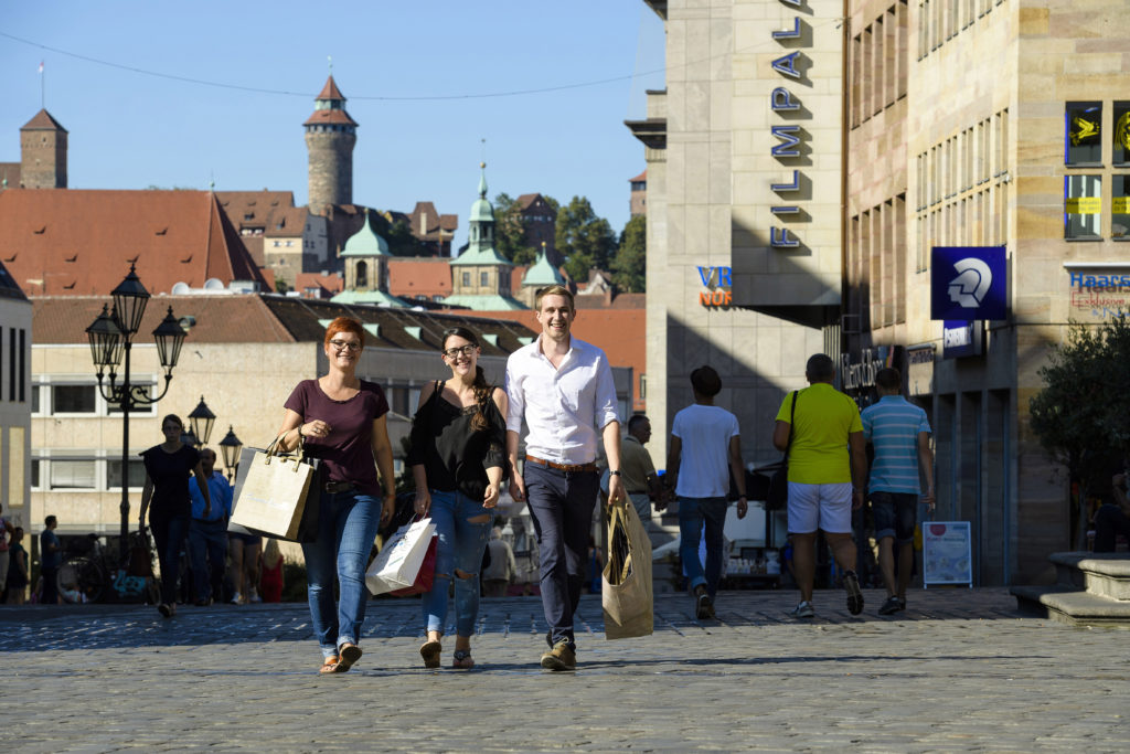 Nürnbergs Shopping-Angebot fördert Tagestourismus