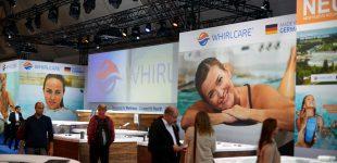 Whirlcare feiert gelungene Premiere auf der interbad 2018