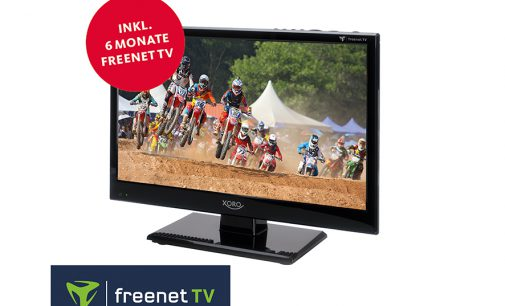 15.6″ Full HD freenet TV Fernseher von XORO