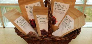 Tee Onlineshop AURESA.de erhält offiziell die Bio-Zertifizierung