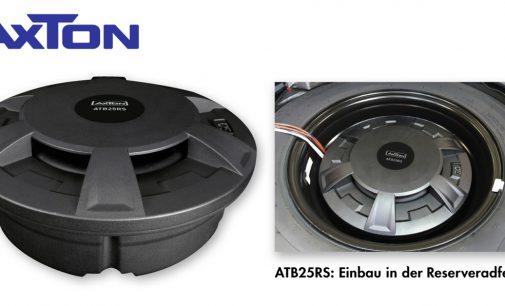 Bassmacher für das Reserverad: der ATB25RS von AXTON