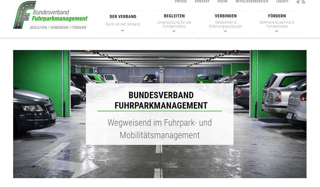 Ab sofort freigeschaltet: Neue Möglichkeiten auf www.fuhrparkverband.de