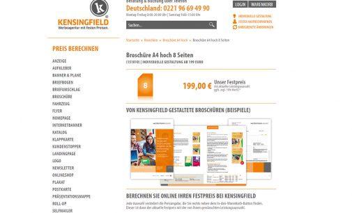 Firmenbroschüre A4 hoch 8 Seiten – schon ab 199 Euro