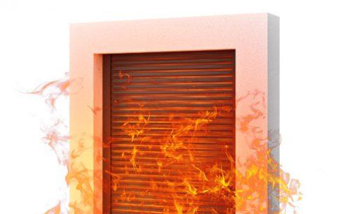 Die Rollladensysteme von ALUPROF weisen eine hohe Brandschutzklasse auf