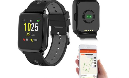 newgen medicals GPS-Sportuhr SW-420.hr
