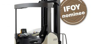 Crown Schubmaststapler ESR 1000: Nominiert für den IFOY Award 2020