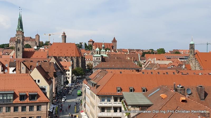 Nürnberger Altstadt mit Burg