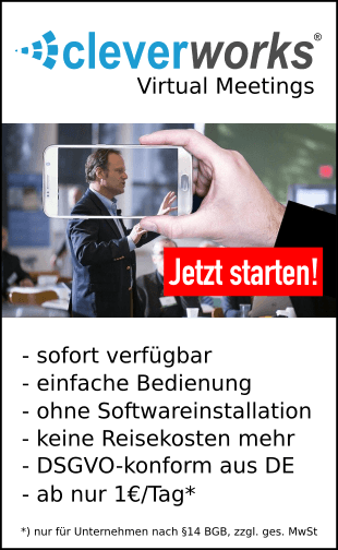 Cleverworks Marketing- und Salesautomation Virtuel Meetings