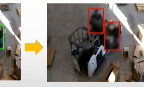 Mindestabstand mit Künstlicher Intelligenz sicherstellen: SARS-CoV-2-Arbeitsschutzstandard