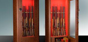 Wertvolle Waffen sicher und sichtbar aufbewahren