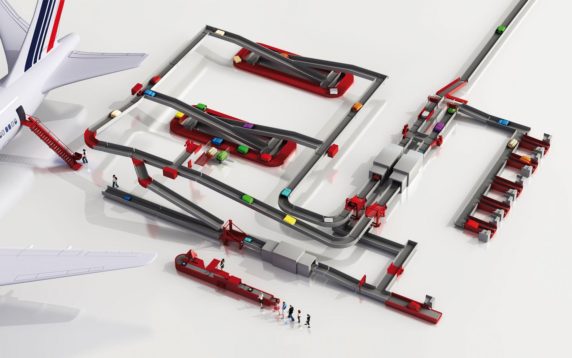 motion06 gmbh ist Spezialist für Gepäckförderung sowie Waren- und Materialfluss in der Intralogistik