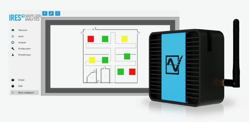 IRES Shopfloor Analytics erleichtert Remote Monitoring, Analyse und Optimierung der Produktion