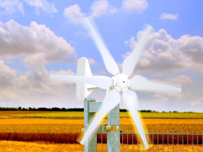 revolt Windgenerator für 12-Volt-Systeme, 300 Watt, www.pearl.de