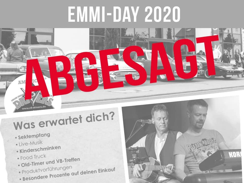 Emmi-Day wird abgesagt