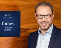 Thomas Gelmi wird Mitglied des Forbes Coaches Council