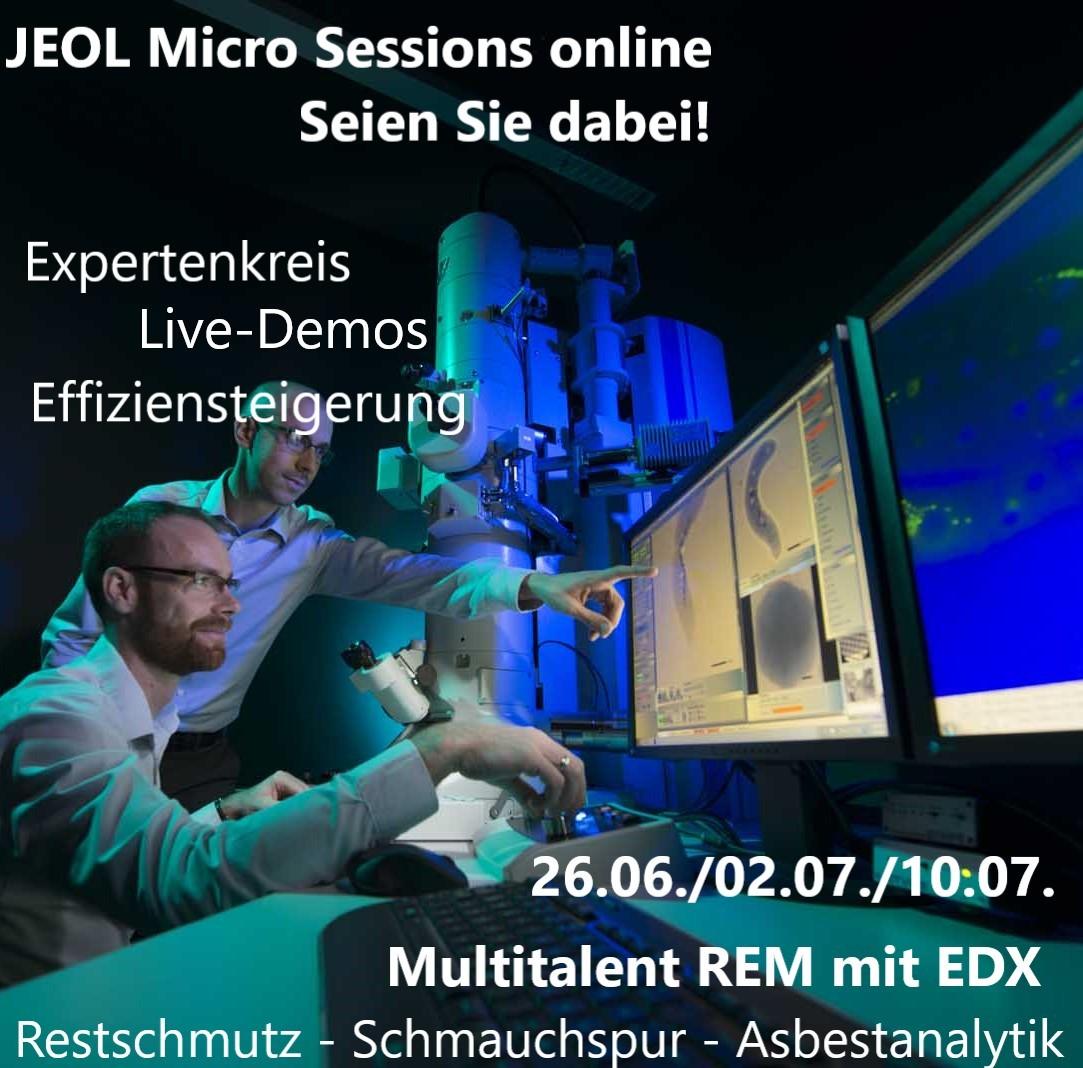 Micro Sessions von Jeol