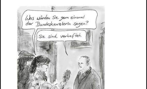 Merkelokratie –  Neuer Cartoonband von Bernd Zeller