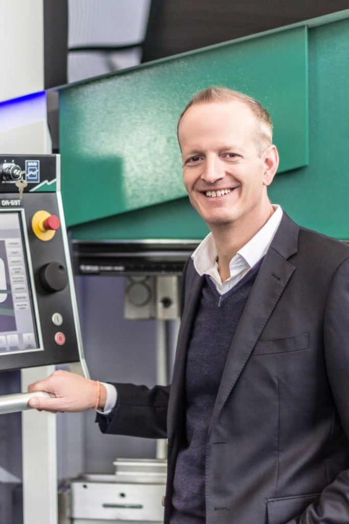 Thomas-Alexander Weber, Geschäftsführer der Hezinger Maschinen GmbH.