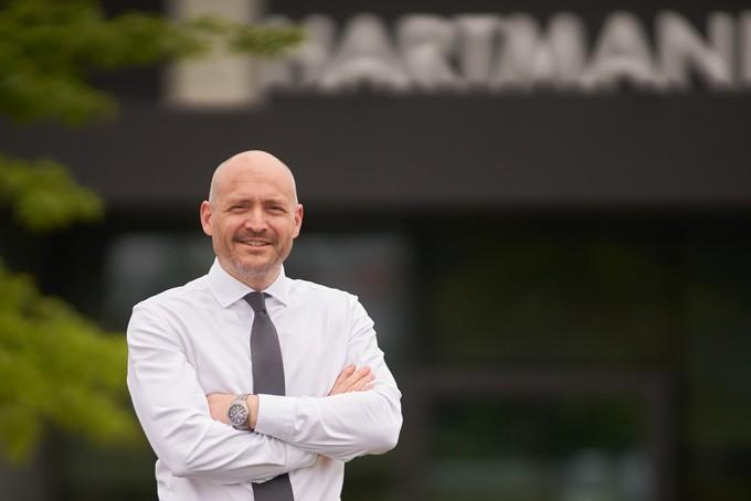 Handelsexperte Olaf Engler leitet den Vertrieb Privatkunden bei Hartmann Tresore