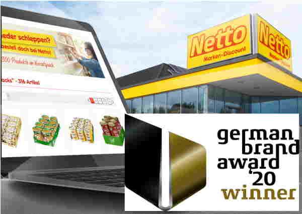 dotSource-Kunde Netto MarkenDiscount erhält den German Brand Award 2020 für exzellente Markenkommuni