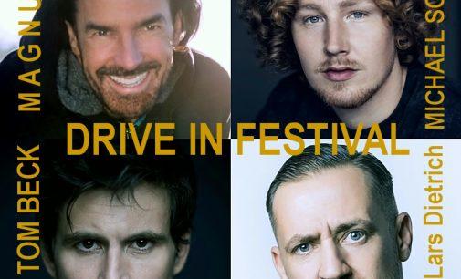DRIVE IN FESTIVAL – MAGNUS, Michael Schulte, Tom Beck u.a