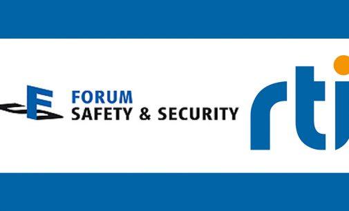 RTI auf dem Virtuellen Forum Safety & Security am 23. Juni