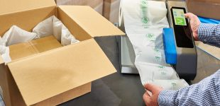 """""""Grüne"""" Verpackung von Flöter – AirWave Bio Luftpolsterfolien für sichere und nachhaltige Versandlösungen"""