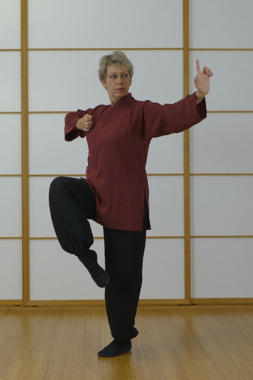 Myochu QiGong zeigt eine Figur aus dem Shaolin QiGong