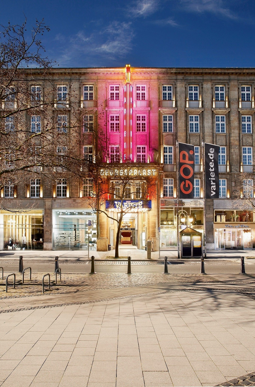 GOP Varieté-Theater Hannover - Fassade Georgstrasse